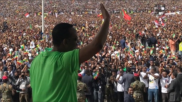 Addis Ababa Demonstration