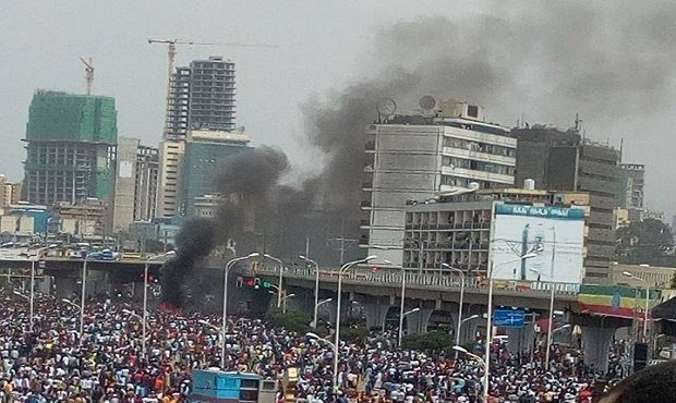 Addis Ababa Demonstration bomb attack