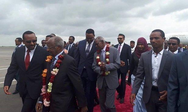 Eritrean Delegation _ Addis Ababa