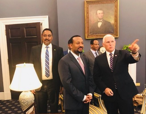 Abiy Ahmed_ Mike Pence