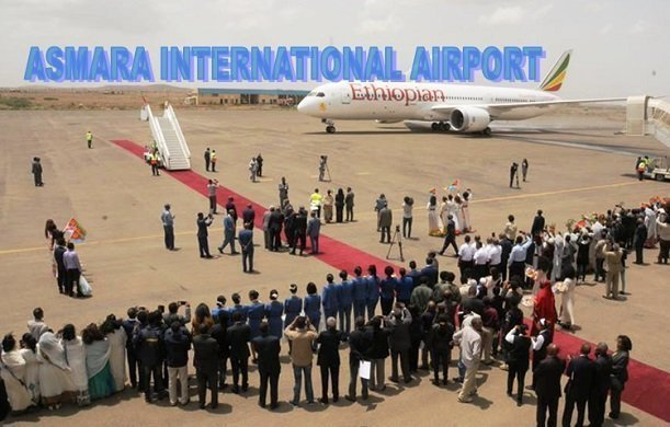 Ethiopian Airlines started today commercial flights to Asmara