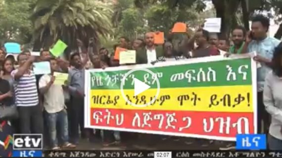 Ethiopians demand federal government to protect civilians in Jijiga
