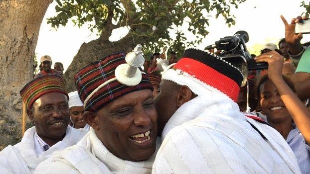 Irreechaa Oromo religious holiday welcomed a new Aba Geda