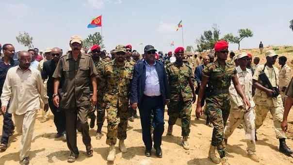 Eritrea - Ethiopia - Abiy -Isayas