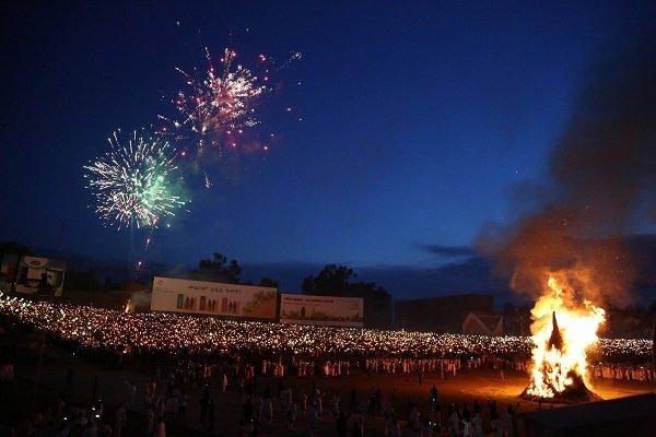 Meskel Bonfire - Addis Ababa