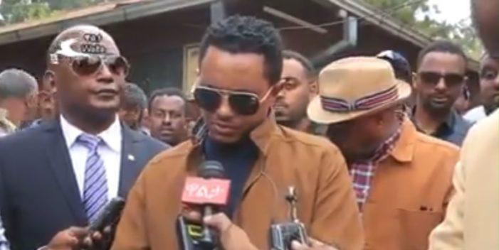 Ethiopia's pop star Teddy Afro donated 1 million birr to Burayu massacre victims
