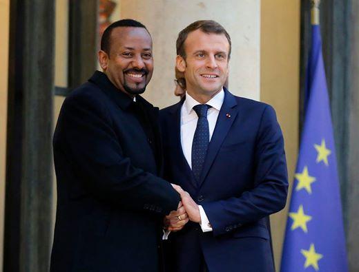 Abiy and Macron