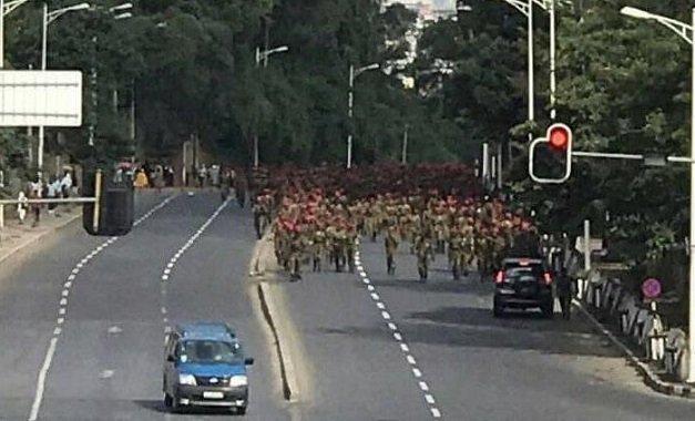 Army March - Anarchy - Ethiopia _