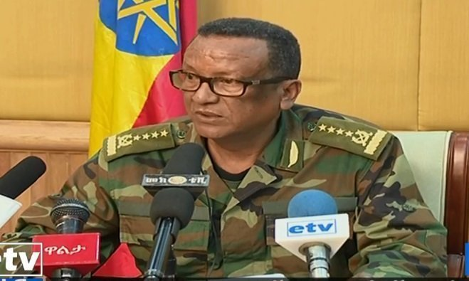 "Ethiopia's Chief of Staff of the Defense forces ""attacked"", says PM Abiy"