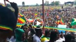 Ginbot 7 held a meeting with residents of Wolkite in central Ethiopia