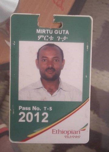 Mirtu Guta _ Ethiopian Airlines