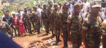 Ethiopian Soldiers killed