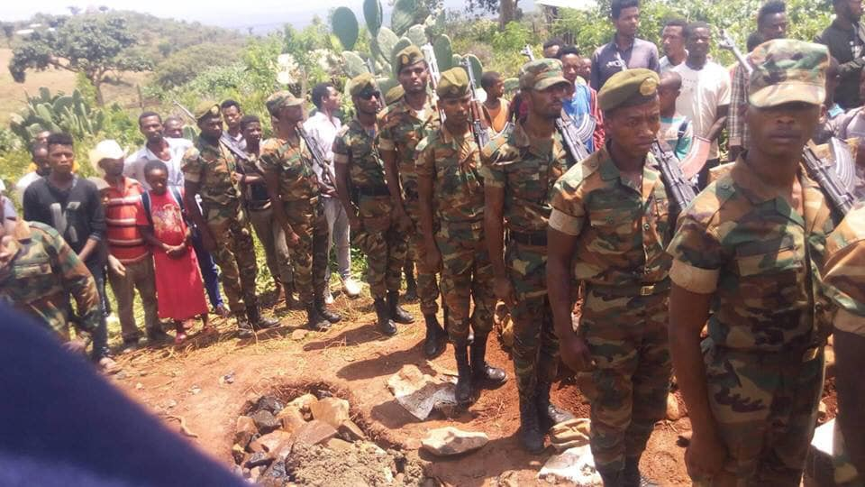 Ethiopian Soldiers killed