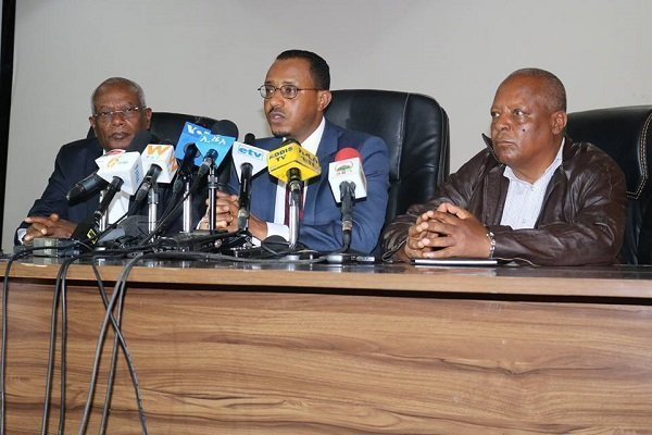 Oromo party leaders