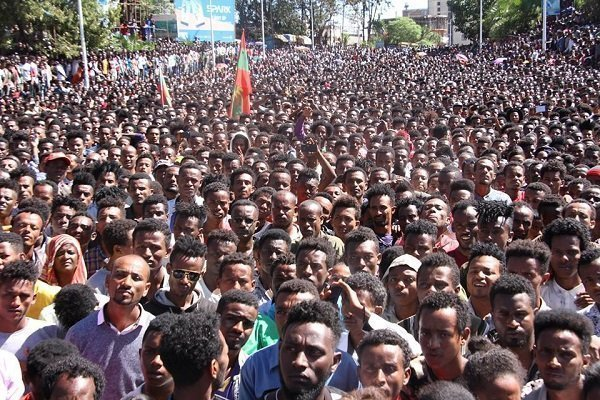 Protesters in Oromo region of Ethiopia demand an end to security crisis