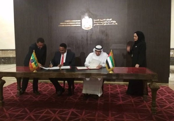 United Arab Emirates signed labour agreement with Ethiopia