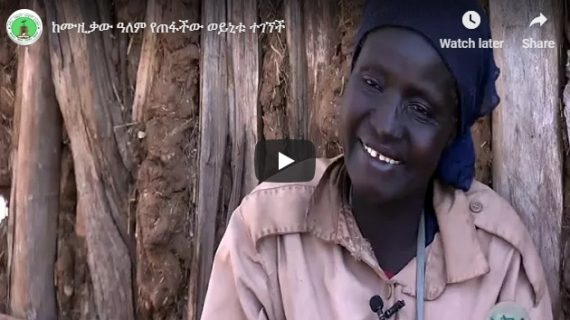 Heart rending situation of Ethiopia's former musician Woinitu