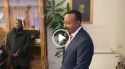 Abiy Ahmed's remark over his visit to the Vatican