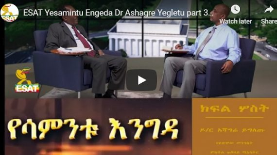 Ashagre Yegletu on the last days of Derg and how Mengistu left the country