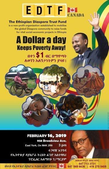 Ethiopian Diaspora Trust Fund _ Toronto