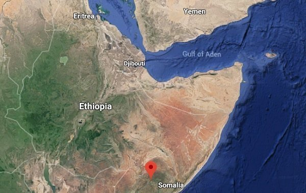 Ethiopian Air Force says it killed 35 Al-Shabab militants in