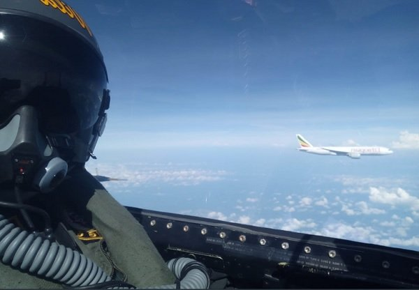 Ethiopian Airlines _ Indonesian Air force