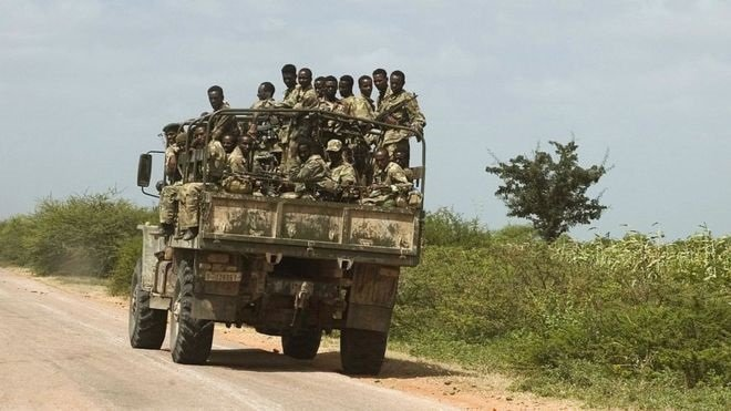 Ethiopian Troops _ Somalia _ Photo AFP