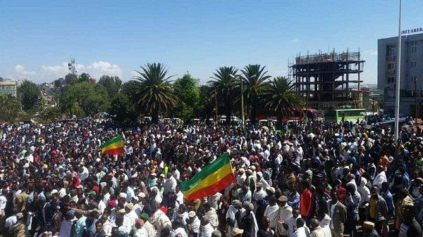 Ethiopian Opposition held massive open air meeting in Debre Markos