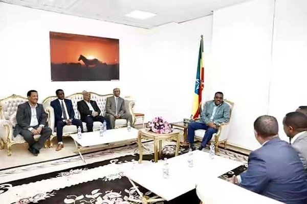 ESAT team in Ethiopia, met with DPM Demeke Mekonen