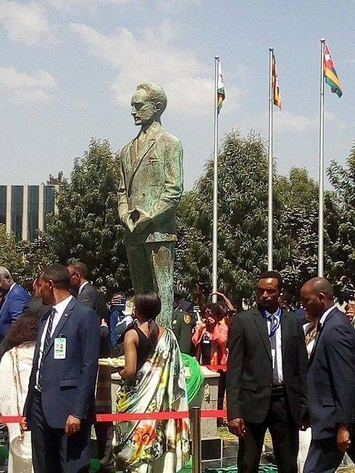 Emperor Haileselassie I Statue