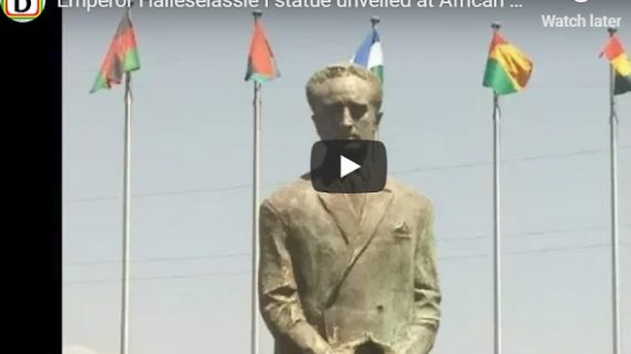 Emperor Haileselassie I statue unveiled at African Union Headquarter