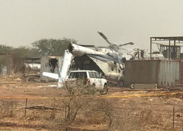 Ethiopian Helicopter crash _ Abyei _