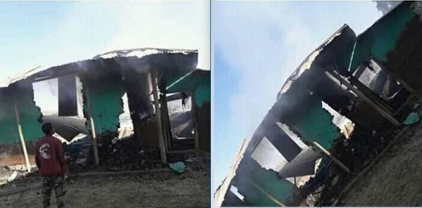 Another Mosque blazed in Andabet, South Gonder