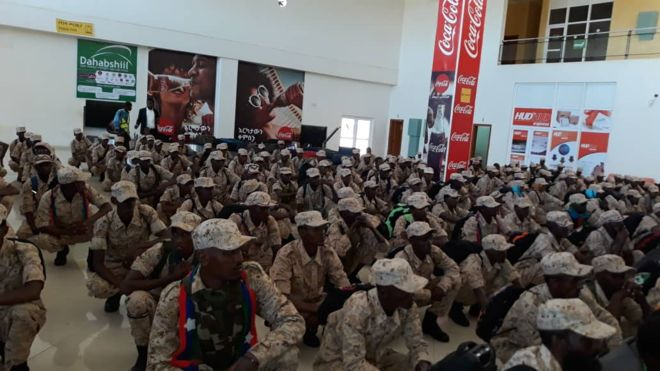 Ogaden National Liberation Front (ONLF) officially disarmed