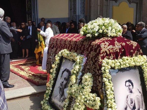 Princess Sara Gizaw funeral _ Ethiopia