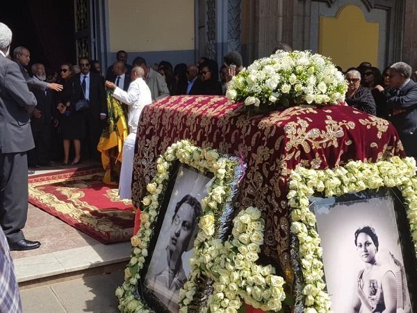 Princess Sara Gizaw laid to rest at Kidist Selassie Menbere Tsebaot