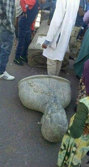 Ras Mekonen  statue _ Harar