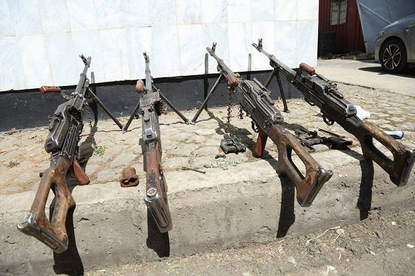 Smuggled Machine Guns - Seized _ Ethiopia