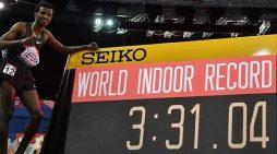 Ethiopian Samuel Tefera  breaks World Indoor 1500 meters record