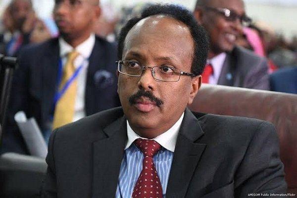 Somali President Mohamed Abdullahi 'Farmaajo' visiting Addis Ababa