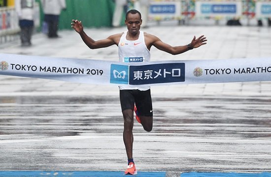 Ethiopian Athletes won Tokyo Marathon in both categories