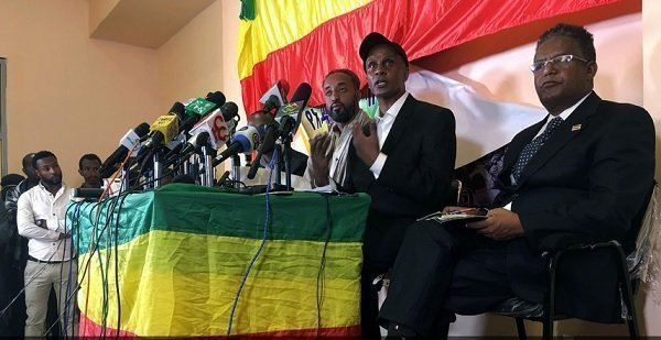 Ethiopia's new advocacy group for Addis Ababa, Balderas, held its presser