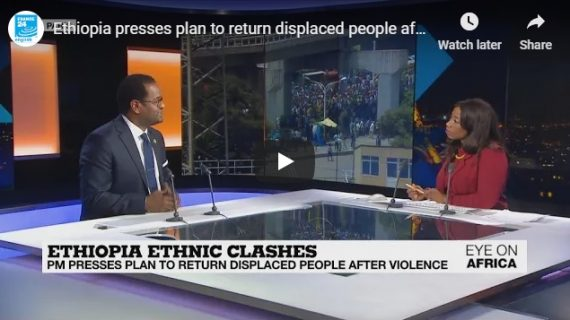 Ethiopia presses plan to return displaced people after violence : France 24