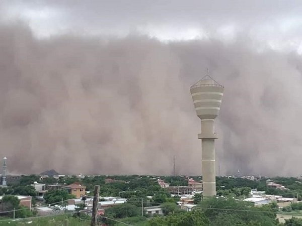 Dust Storm hits Dire Dawa and other towns in South Eastern Ethiopia
