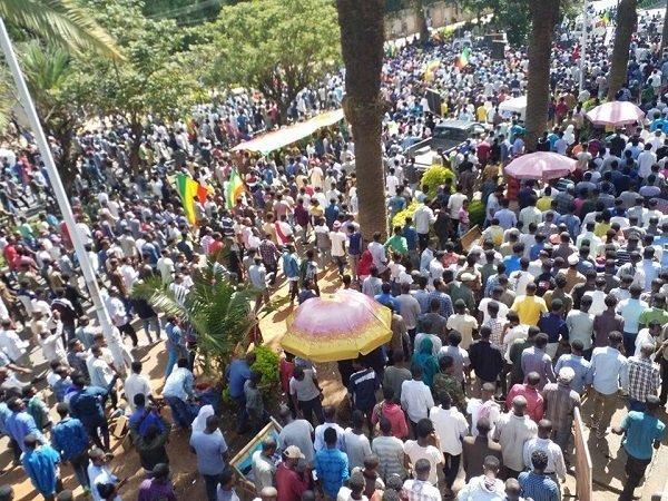 Ethiopia _ Amhara_ protest