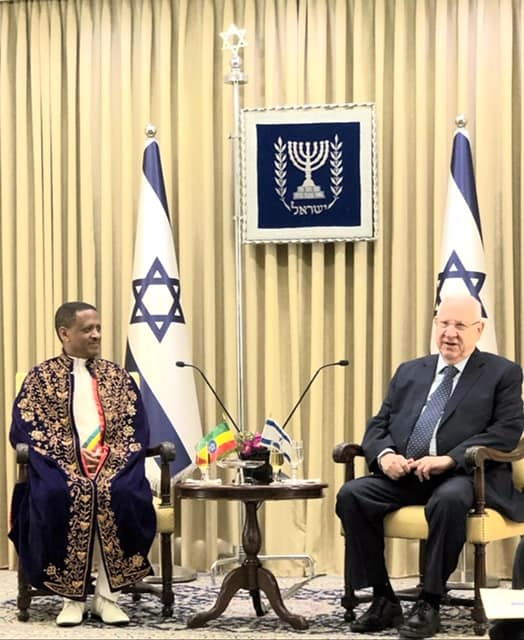 Ambassador Reta _ Ethiopia _ Israel