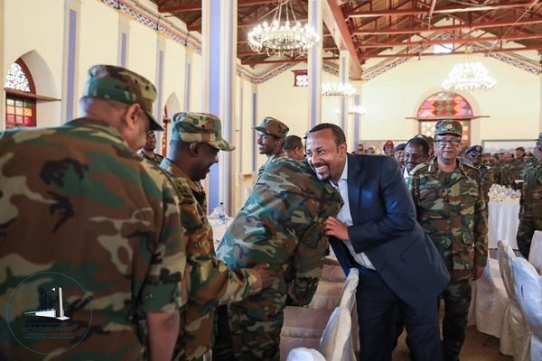 Ethiopian military leaders visited Prime Minister's office