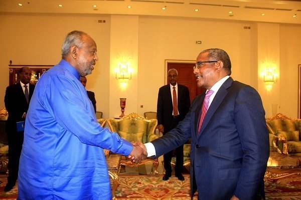 Ethiopian Foreign Minister visiting Djibouti