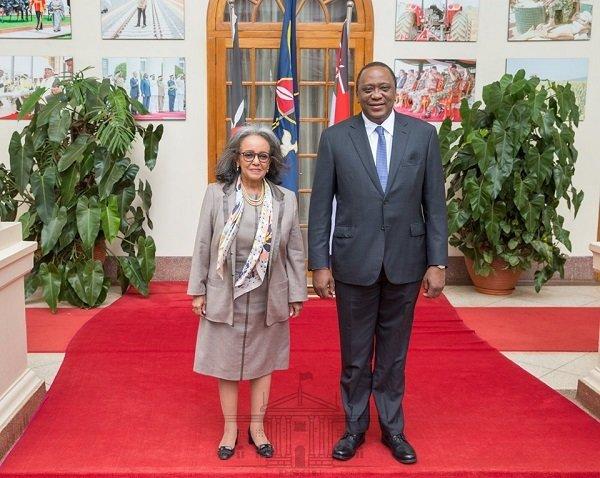 SahleWork Zewde _Kenyatta_ Ethiopia _ Kenya_