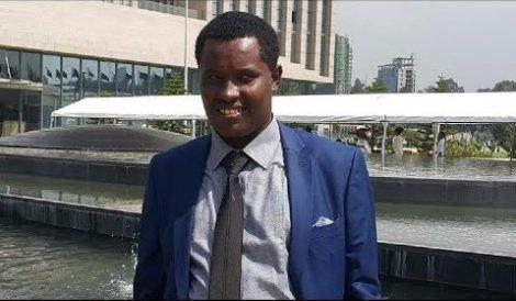 Christian Tadele _ NaMA spokesperson